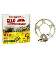 """Σετ Γρανάζια-Αλυσίδα κινήσεως DID-JT για Yamaha MT-09 '14-'16 """"Χρυσή Αλυσίδα X 'ring (VX G&B)"""""""